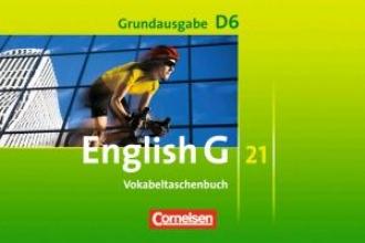Schwarz, Hellmut,   Biederstädt, Wolfgang English G 21. Grundausgabe D 6. Vokabeltaschenbuch