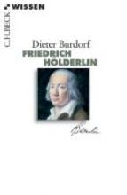 Burdorf, Dieter Friedrich Hölderlin