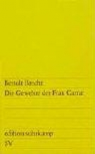 Brecht, Bertolt Die Gewehre der Frau Carrar