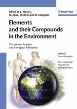 Merian, Ernest Elements and their Compounds in the Environment