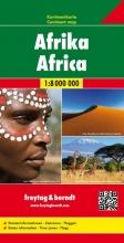 , Afrika, Kontinentkarte 1:8 000 000