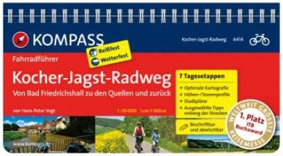 Hans-Peter Vogt, FF6414 Kocher-Jagst-Radweg Kompass