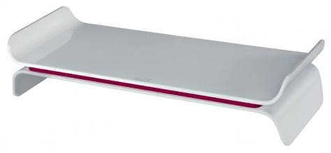 , Monitorstandaard Leitz WOW Ergo verstelbaar roze