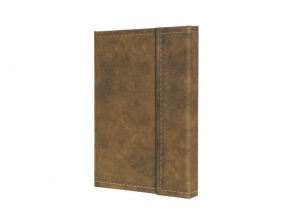 notitieboek Conceptum 194blz hard Vintage Brown 207x280mm   geruit