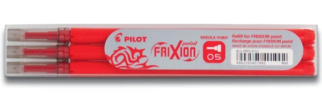 , Rollerpenvulling PILOT Frixion Hi-Tecpoint rood 0.25mm