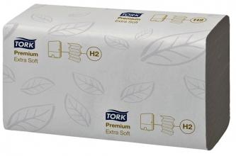 , Handdoek Tork H2 600297 Premium 2laags 2