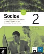 Socios 2 Cuaderno de ejercicios + CD