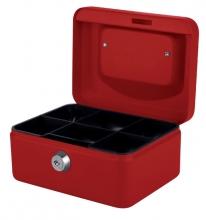 , Geldkist Pavo 150x115x80mm rood