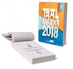 Onze Taal scheurkalender 2018