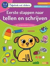 ZNU , Oefenboek met stickers - Eerste stappen naar tellen en schrijven (3-4 j.)