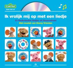 Sesamstraat Ik vrolijk mij op met een liedje, Boek met cd