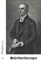 H.F.  Kohlbrügge Schriftverklaringen 22