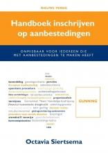Octavia Siertsema , handboek inschrijven op aanbestedingen