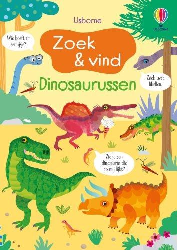 ,Zoek en vind Dinosaurussen
