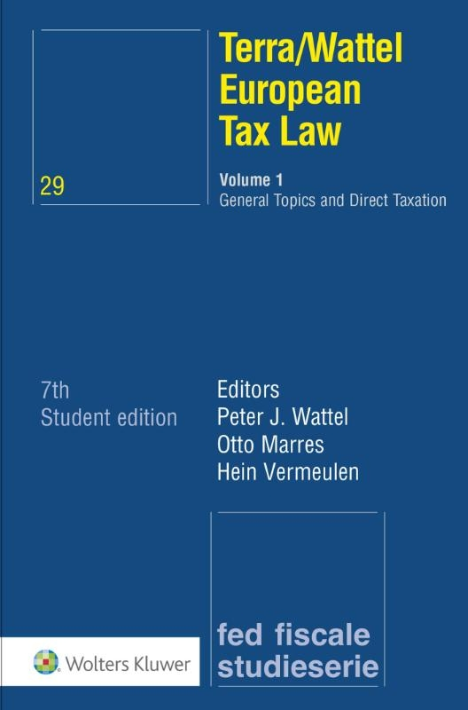 ,Terra/Wattel European Tax Law 1 General Topics and Direct Taxation