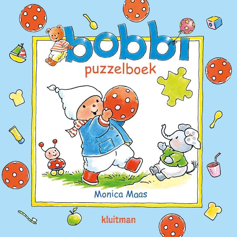 Monica Maas,Bobbi puzzelboek