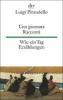 Pirandello, Luigi,Una giornata. Racconti / Wie ein Tag. Erzählungen