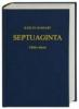 Septuaginta. Das Alte Testament griechisch,Verkleinerte Ausgabe in einem Band. Mit griechischer, lateinischer, deutscher u. englischer Einführung