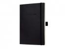 ,notitieboek Sigel Conceptum softcover A5 zwart gelinieerd