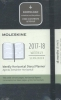 ,Moleskine 18 month planner - weekly horizontal - pocket - black - hard cover
