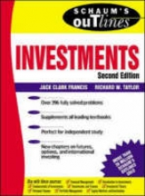 Francis, Jack Clark Schaum`s Outline of Investments