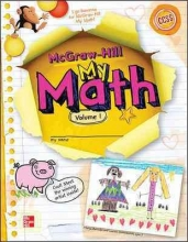 McGraw-Hill Education McGraw-Hill My Math, Grade K, Student Edition, Volume 1