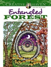Angela Porter Creative Haven Entangled Forest Coloring Book