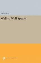 David Mus Wall to Wall Speaks