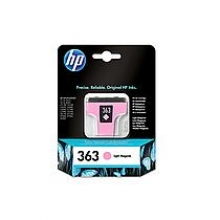 , Inktcartridge HP C8775EE 363 lichtrood