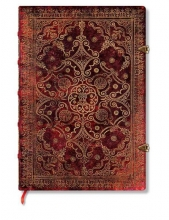 Carmine Mini Lined Journal