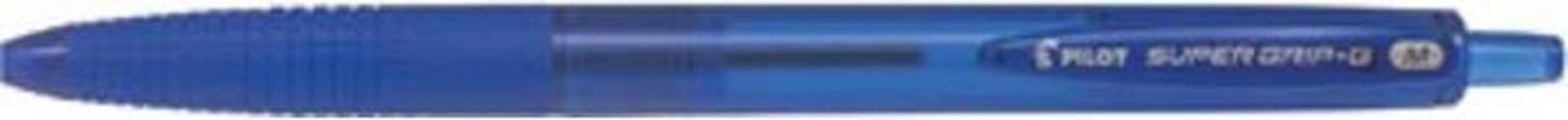 , Balpen PILOT Supergrip G blauw 0.32mm valueapack à 24+6 stuks