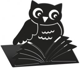 Mos-81399 Boekensteunen uilen zwart