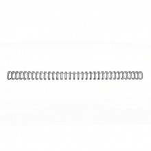 , Draadrug GBC 12.7mm 34-rings A4 zwart 100stuks