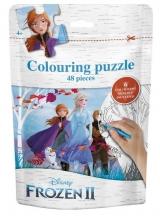 , Frozen II  Puzzel bag  (Groep)