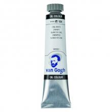 , Talens van gogh olieverf tube 20 ml zinkwit 104
