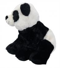 , Knuffel pluche panda zittend 24cm