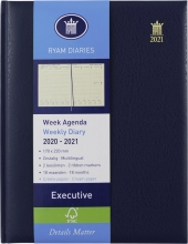 , Ryam executive agenda 2020-2021 18 maanden 170x220 blauw