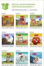 , Pakket Kleuters samenleesboeken informatief Jaarpakket 2