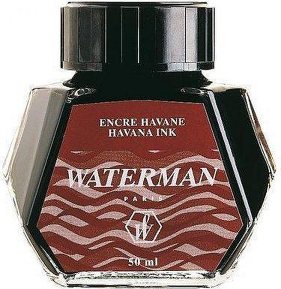 ,Vulpeninkt Waterman 50ml absoluut bruin
