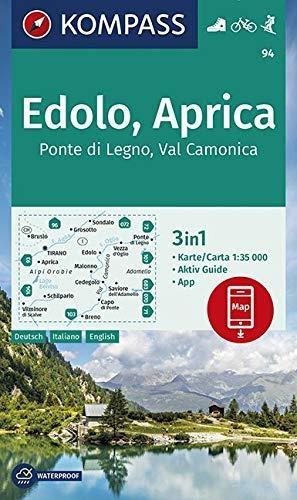 ,Edolo, Aprica, Ponte di Legno, Val Camonica 1:35 000