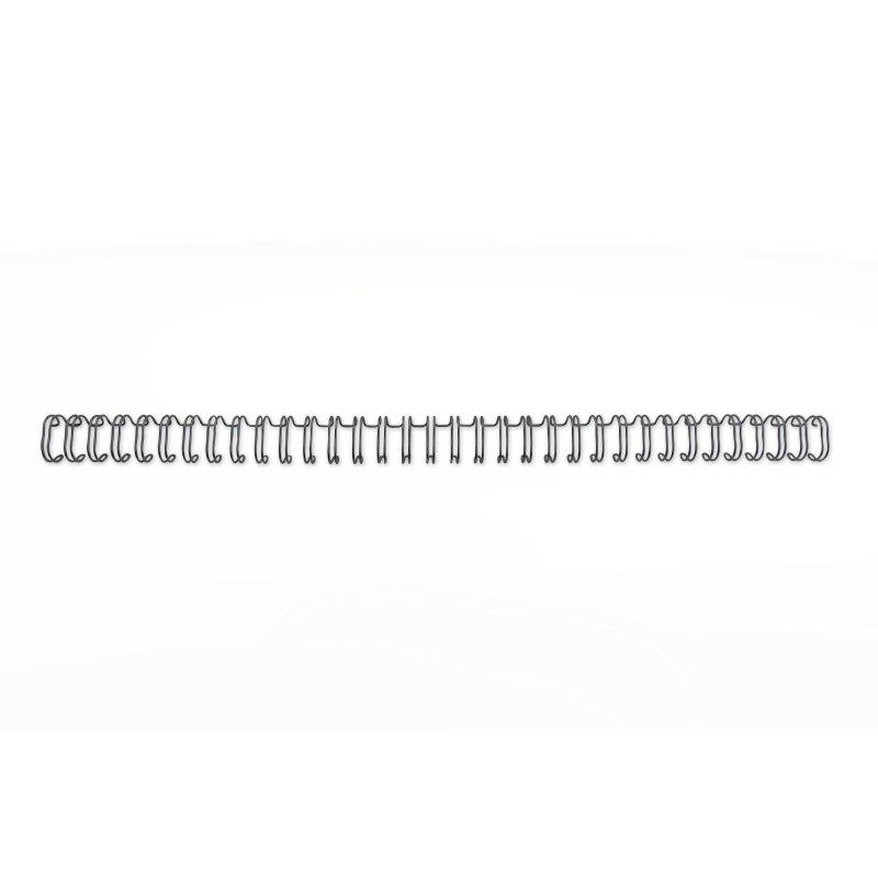 ,Draadrug GBC 12.7mm 34-rings A4 zwart 100stuks
