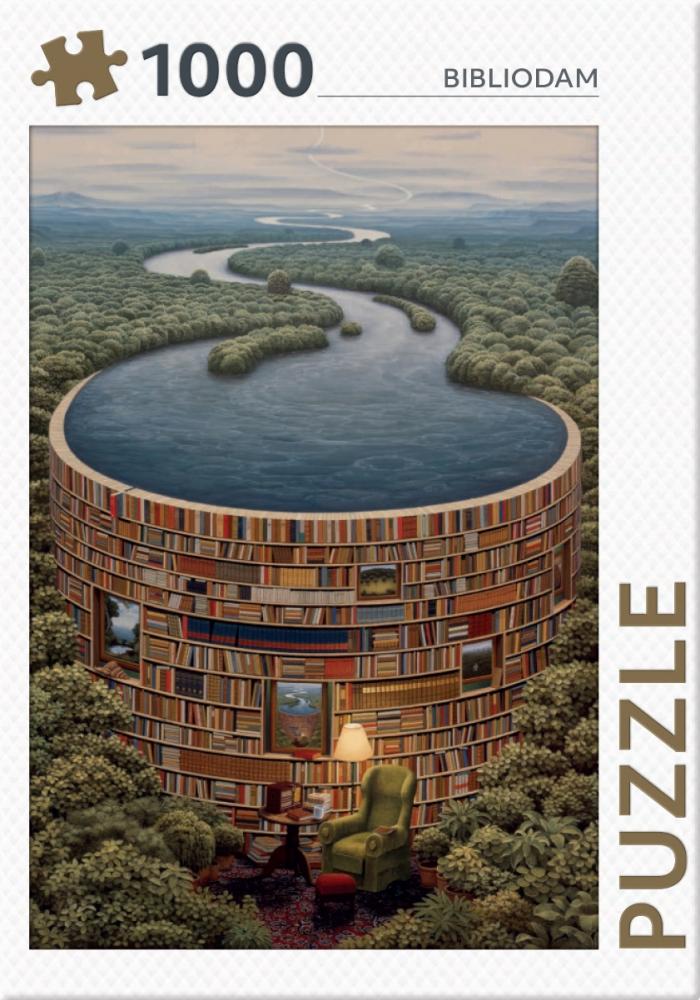 ,Bibliodam - puzzel 1000 stukjes