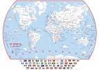 <b>Maps.doodle.nl</b>,Kinderwereldkaart om in te kleuren