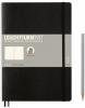 <b>Lt349295</b>,Leuchtturm notitieboek composition softcover 178x254 mm  blanko zwart