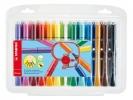 ,<b>Viltstift STABILO Cappi 168 etui à 24 kleuren</b>