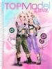 , Topmodel dance specialkleurboek