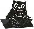 <b>Mos-81399</b>,Boekensteunen uilen zwart