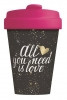 <b>Bcp300</b>,Bamboocup all you need is love gold