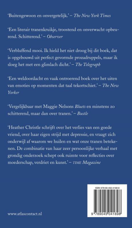 Heather Christle,Het boek der tranen