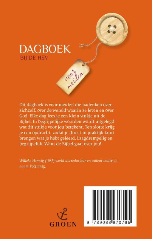Willeke  Herwig,Dagboek bij de HSV Voor meiden